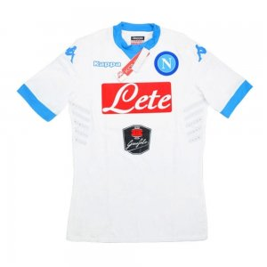 2015-16 Napoli Kappa Authentic Home Goalkeeper Shirt