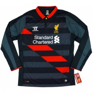 2014-15 Liverpool Warrior Third Long Sleeve Football Shirt