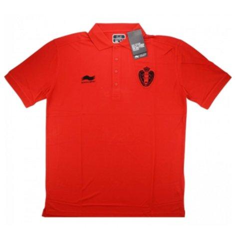 2014-15 Belgium Burrda Polo Travel T-shirt