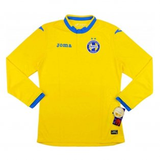 2016 BATE Borisov Joma Home Long Sleeve Football Shirt
