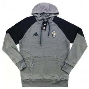 2016-17 Juventus Adidas Hooded Sweat Top