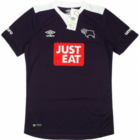 2015-16 Derby County Umbro Away Football Shirt