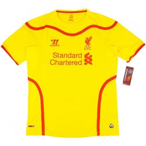 2014-15 Liverpool Warrior Away Football Shirt