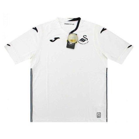 2018-2019 Swansea Joma Home Football Shirt (Kids)