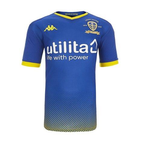 2019-2020 Leeds United Kappa Home Goalkeeper Shirt - Kids