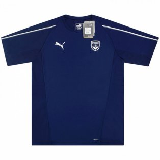 2018-2019 Bordeaux Puma Training Shirt (Navy)