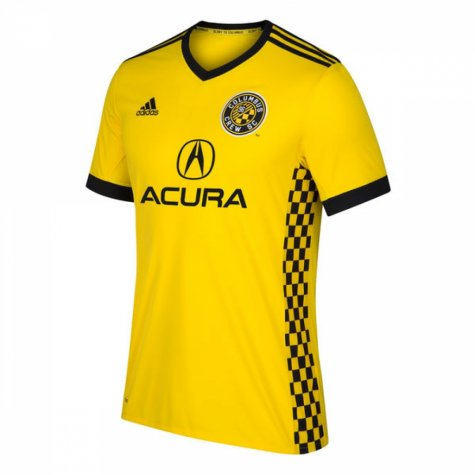 2018 Columbus Crew Adidas Home Football Shirt - Kids