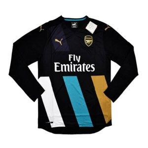 2015-16 Arsenal Puma Third Long Sleeve Shirt - Kids