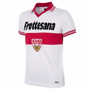 VfB Stuttgart 1977 - 78 Retro Football Shirt