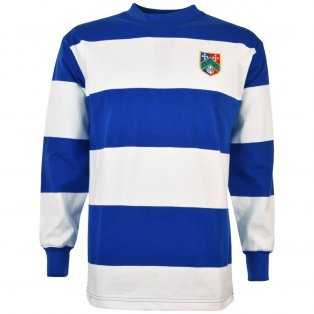 Queen's Park Rangers 1960s - 70s Retro Football Shirt