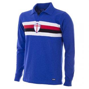 U. C. Sampdoria 1956 - 57 Retro Football Shirt