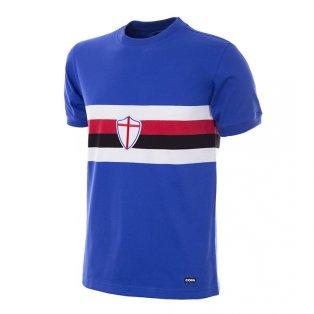 U. C. Sampdoria 1975 - 76 Retro Football Shirt