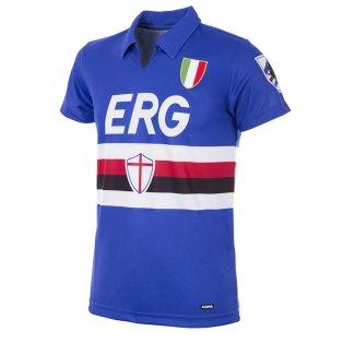 U. C. Sampdoria 1991 - 92 Retro Football Shirt