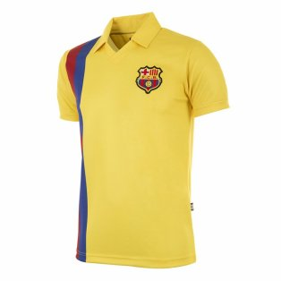 FC Barcelona 1981 - 82 Away Retro Football Shirt