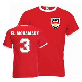 Ahmed El Mohamady Egypt Ringer Tee (red)