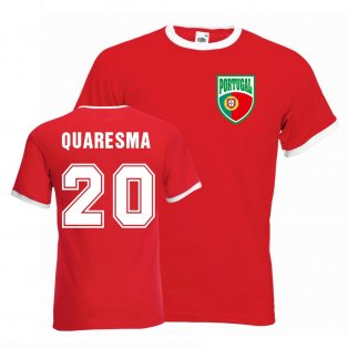 Ricardo Quaresma Portugal Ringer Tee (red)