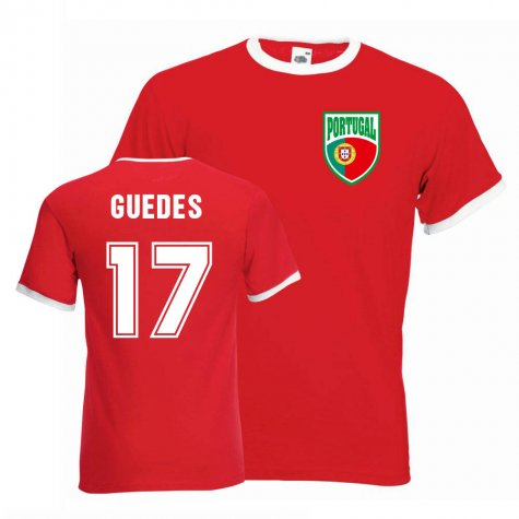 Goncalo Guedes Portugal Ringer Tee (red)