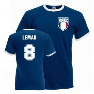 Thomas Lemar France Ringer Tee (blue)