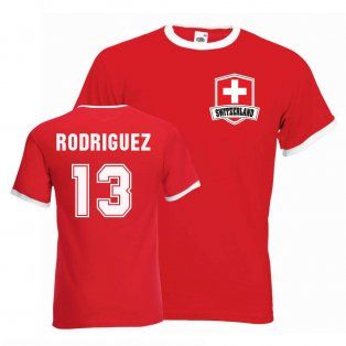 Ricardo Rodriguez Switzerland Ringer Tee (red)