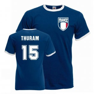 Lillian Thuram France Ringer Tee (blue)
