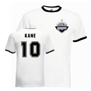 Harry Kane Tottenham Ringer Tee (white-black)
