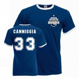 Claudio Canniggia Dundee Ringer Tee (navy)