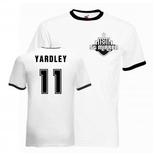 Mark Yardley St Mirren Ringer Tee (white-black)