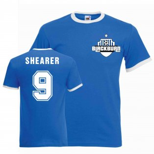 Alan Shearer Blackburn Ringer Tee (blue)