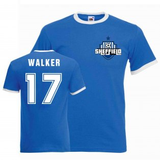 Des Walker Sheffield Wednesday Ringer Tee (blue)