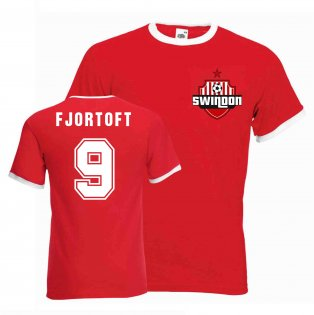 Jan Age Fjortoft Swindon Ringer Tee (white-black)