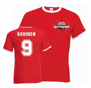 Lars Bohinen Nottingham Forest Ringer Tee (red)