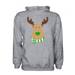 Real Betis Rudolph Supporters Hoody (grey) - Kids