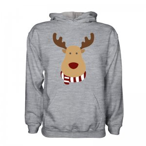 St Pauli Rudolph Supporters Hoody (grey)
