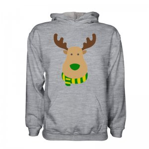 Norwich Rudolph Supporters Hoody (grey)
