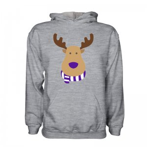 Real Madrid Rudolph Supporters Hoody (grey)
