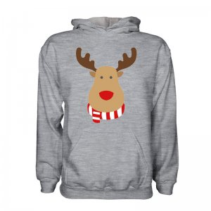 Nottingham Forest Rudolph Supporters Hoody (grey) - Kids