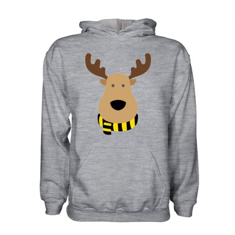 Watford Rudolph Supporters Hoody (grey) - Kids