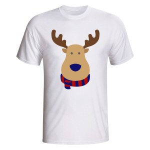 Barcelona Rudolph Supporters T-shirt (white)