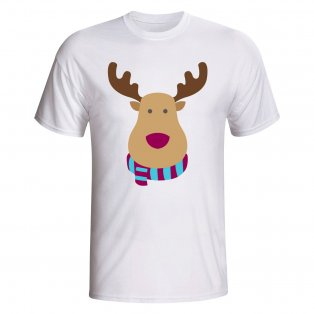Aston Villa Rudolph Supporters T-shirt (white) - Kids