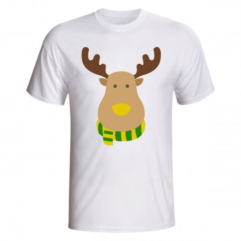 Norwich Rudolph Supporters T-shirt (white)