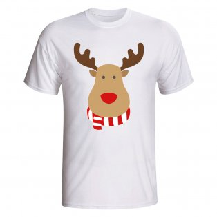 Rayo Vallecano Rudolph Supporters T-shirt (white) - Kids