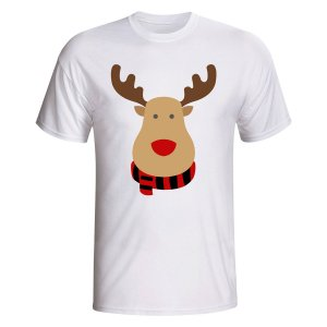 Belgium Rudolph Supporters T-shirt (white) - Kids