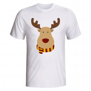 Motherwell Rudolph Supporters T-shirt (white) - Kids
