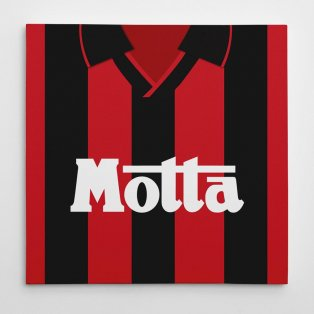 AC Milan 1993 Football Canvas Print