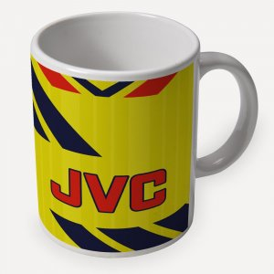 Arsenal 1984 Away Retro Ceramic Mug