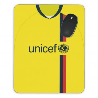 Barcelona 08/09 Away Mouse Mat