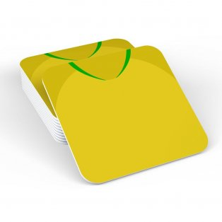 Brazil 2018 Football Retro Coaster