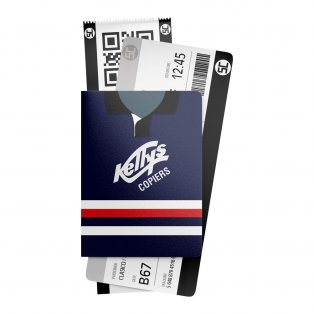 Dundee 1992 Away Retro Passport Holder