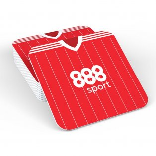 Nottingham Forest 17/18 Football Retro Coaster