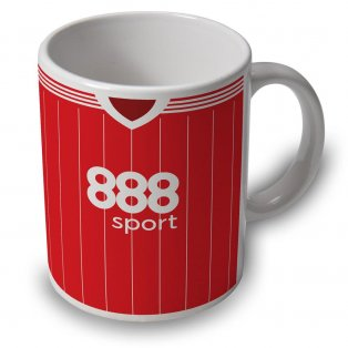 Nottingham Forest 17/18 Football Retro Ceramic Mug